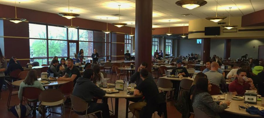 Photo by Devin King The Spellmann dinning hall, which is a place where students can have a meal at