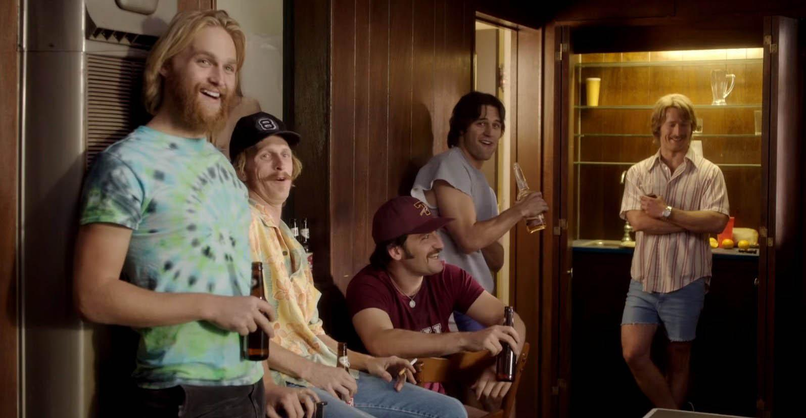 Photo courtesy of Sire mag from Flickr From left, Willoughby (Wyatt Russell), Nesbit (Austin Amelio), Coma (Forrest Vickery), Roper (Ryan Guzman) and Finnegan (Glen Powell) in