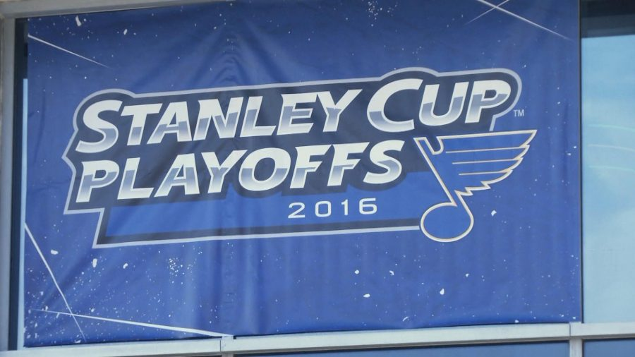 St. Louis Blues and Chicago Blackhawks Battle In Stanley Cup Playoff Clash