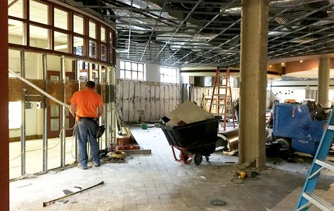 Photo by Viktoria Muench <br> The new coffee shop and convenience store will offer products from Caribou Coffee.