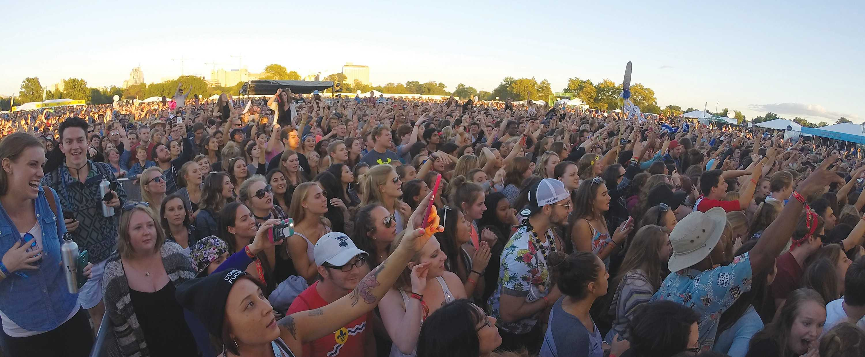 Photo by Phil Brahm The Crowd at the 2015 Loufest