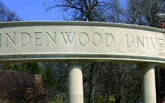 Lindenwood University entrance off of First Capitol Drive.  Photo by Kelby Lorenz