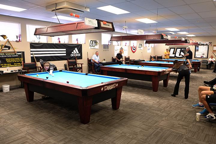 New recruits, seasoned players lead billiards to dominating start