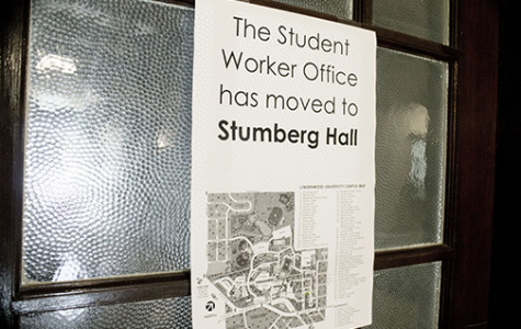 Student Worker office moves to Stumberg Hall
