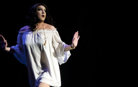 Semiannual drag show 'drags up past' with musical classics, emotional performances