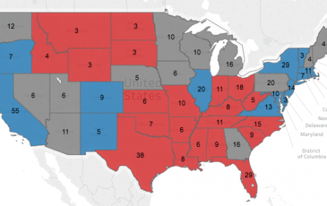 Vote 2016: presidential election results map