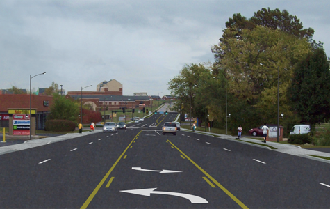 Roadwork to affect south entrance