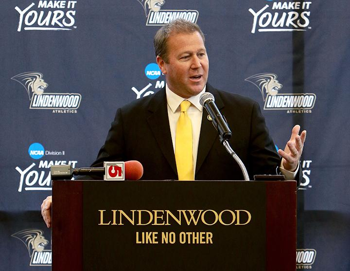 New football coach says Lindenwood is his new 'family'