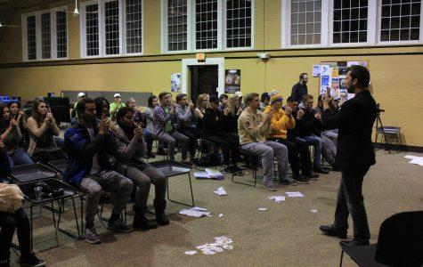 Astonishment artist amazes Butler Loft audience Friday