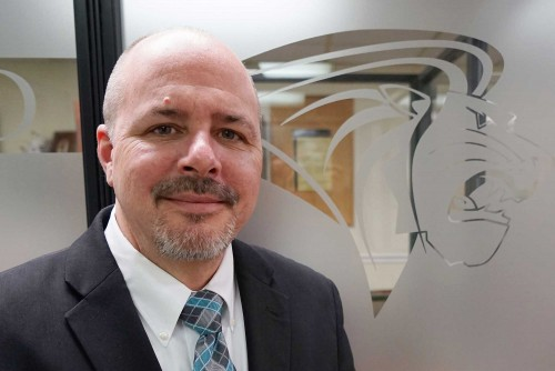 Interim Dean of Online Degree Programs Joe Alsobrook  Photo from Lindenwood website