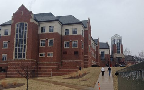 A cloudy day at Lindenwood in St. Charles