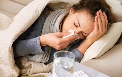 Campus flu cases nearly triple