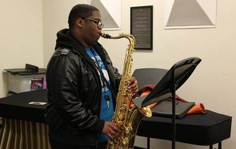 Music education student records jazz album to overcome grief