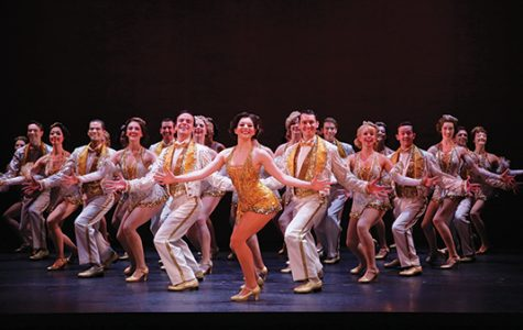 "According to the show's website, the original Broadway production of ""42nd Street"" opened on August 25, 1980, and played for 3,486 performances on Broadway at the Winter Garden, Majestic and St. James Theatre. It is the 14th-longest-running show in Broadway history.<br>Photo from Peter Colombatto"
