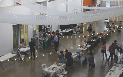 The Grand Art Bazaar brought Lindenwood students and community members together at the Foundry Art Center on Thursday. <br> Photo by Kyle Rainey