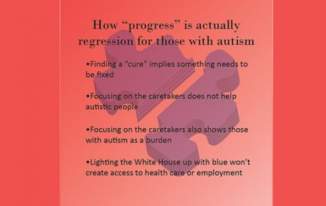 Regression for autism masked as 'progress'