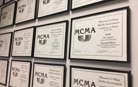 Lindenwood student publications have won 19 MCMA awards in the last two years.