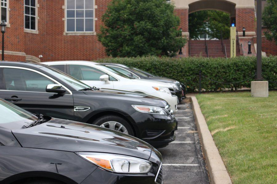 Students, faculty and staff won't have to pay to park on campus this academic year. Photo by Kyle Rainey.