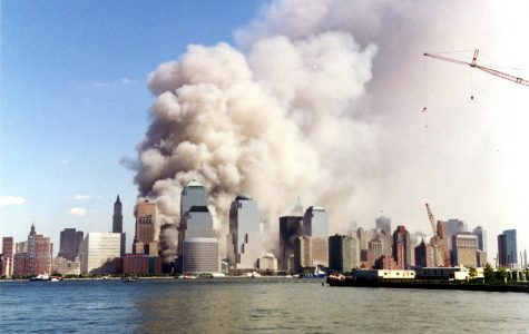 The view on September 11, 2001 from Jersey City Photo by Wally Gobetz from Flickr.com