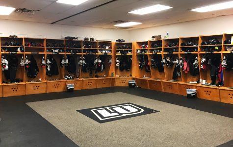Men's Ice Hockey Locker Room