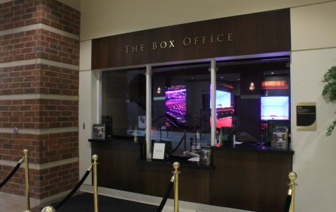 Lindenwood box office is located in the lobby of the J. Scheidegger Center. It's open from Monday to Friday 9 a.m. to 5 p.m. and on the nights of shows also two hours prior to the show.  <br> Photo by Essi Auguste Virtanen