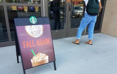 The Pumpkin Spice Latte, or PSL as referred to by fans, marks the start of fall in Starbucks fashion. <br> Photo by Kayla Drake.