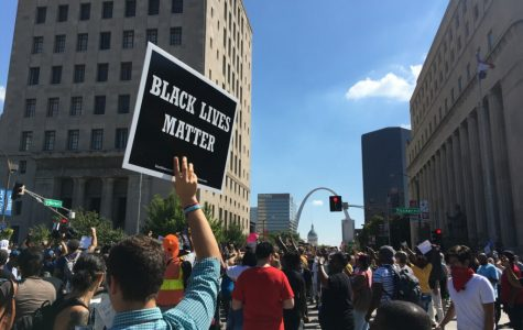 Protests continue regarding the verdict of the Jason Stockley case. <br> Photo by Ashley Higginbotham