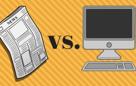 While the switch from weekly newspapers to daily online content offers great opportunities, it comes with challenges. <br> Graphic by Kearstin Cantrell