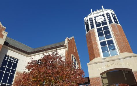 The Spellmann Center dining hall is only open Saturday during Fall Break.   <br> Photo by Matt Hampton