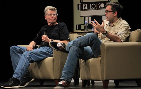 Stephen King and his son Owen King discuss working together as father and son on their novel