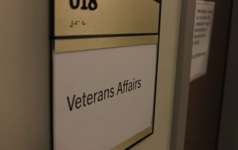 Students wanting to donate can go to the Veterans' Affairs office, situated on the lower level of the LARC.  <br> Photo by Matt Hampton