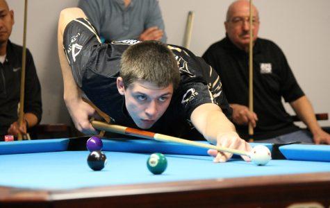 All hands on deck in Lindenwood's narrow billiards victory