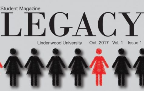 The magazine was created by Lindenwood students. The cover art for the first issue was designed by one of the Legacy staff designers Kat Owens. Legacy magazine's first issue came out Friday Oct. 6.
