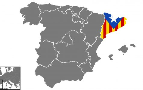 The northeastern most region of Spain held a vote for independence on Sunday despite condemnation by Spain's central government. <br>Base map by Santiago Franco Ramos. Modified by Kyle Rainey