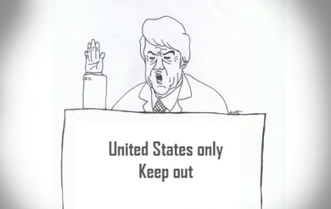 As of Oct. 18, President Trump will be adding North Korea, Iran, Yemen, Chad,  Libya, Somalia, Syria and Venezuela to the travel ban in an effort to keep Americans safe. <br> Illustration by Aaron Vento