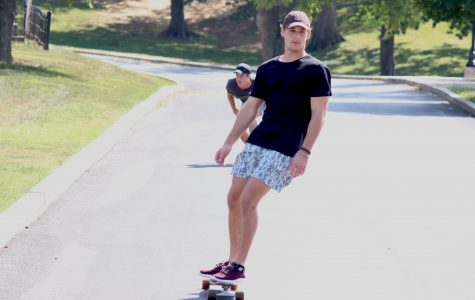 Downhill Drifting: Students adopt longboarding as way to get around campus, city