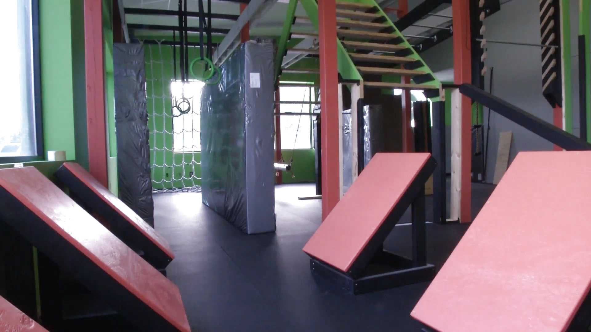 The KOR Komplex is a Ninja Warrior training center and a parkour gym located in St. Charles near Lindenwood University.Photo by Kyle Rainey