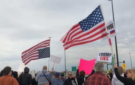Trump speaks in St. Charles; protests ensue