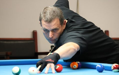 Roster spot for billiards tournament ends with intersquad playoff
