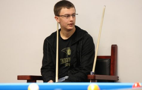 Minnesota native Brandon Vanoverbeke in a late November practice says,
