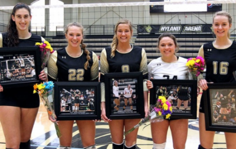 Women's volleyball players gain All-MIAA recognition