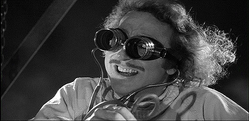 In Young Frankenstein, the grandson of infamous mad scientist Victor Frankenstein, played by Gene Wilder, struggles to show those around him that he is not as insane as his grandfather once was.  Photo from Flickr.com