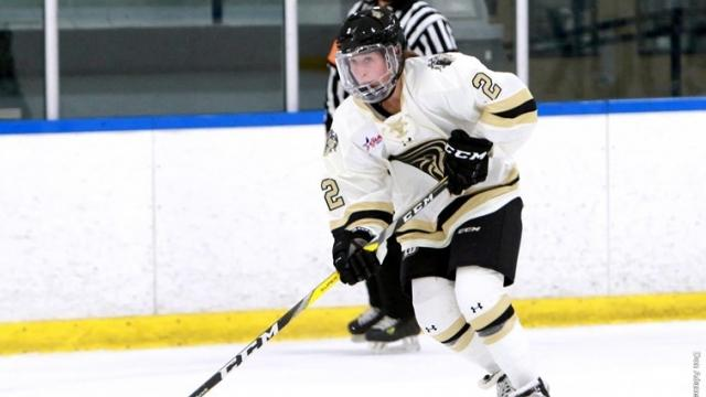 File+photo+of+forward+Kirsten+Martin+in+a+home+Lindenwood+Ice+Hockey+Game.%3Cbr%3EPhoto+by+Don+Adams+Jr.