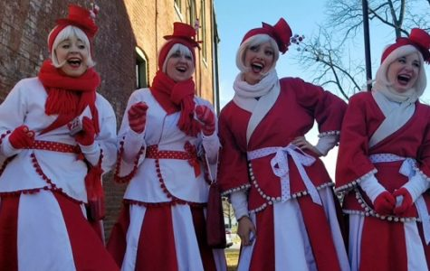 The Candy Cane Carolers sing