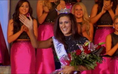 This is a historic moment captured: the first openly gay pageant contestant being crowned with a title. Erin O'Flaherty won Miss Missouri in the Miss America 2017 pageant. Lexy Kadey based her documentary off of this moment. <br> Photo used with permission from Lexy Kadey.