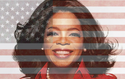 While celebrities, like the pictured Oprah Winfrey, can make this country a better place to be, they should not aim to do so from the Oval Office. <br> Graphic by Kearstin Cantrell