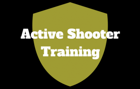 Active Shooter training will be held this Saturday, Feb. 17 in the AB Leadership room in the Spellmann Center and will be open to the first 40 students to show up. Graphic by Madeline Raineri.
