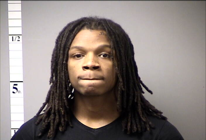 Donald Cotton, 21, charged with one count of felony property damage and one count of misdemeanor stealing.  photo provided by: St. Charles County Police