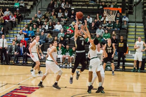 Lindenwood+men%27s+basketball+player+Landon+Mills+drives+to+the+basket+in+traffic+against+Northwest+Missouri+on+Feb.+22+%3Cbr%2F%3E+Photo+by+Andria+Graeler