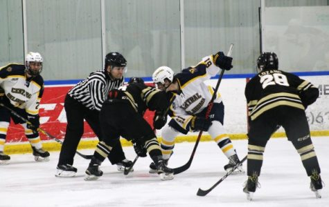 Men's D1 hockey to play Robert Morris University this weekend